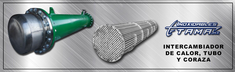 intercambiador de calor tubo y coraza